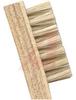 Brush; hog hair bristle 1-3/8x7/16x5/16; wood handle 7-3/4 in length -- 70125516