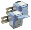 Receptacles DIN Rail Mount -- DMRBA