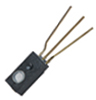 HIH-4010/4020/4021 Series covered filtered integrated circuit humidity sensor, 2,54 mm [0.100 in] lead pitch SIP -- HIH-4021-001 -Image