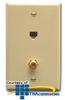 ICC 6P6C, CATV Voice Wallplate -- IC630E6G