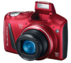 Canon PowerShot SX150 IS Red 14mp w/12x Zoom (28-336mm) Camera w/3in LCD - AA Battery Powered -- 5663B001
