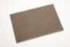 3M Scotch-Brite 7440 Non-Woven Aluminum Oxide Hand Pad - Medium Grade - 6 in Width x 9 in Length - Package Type: Bulk - 18451 -- 048011-18451 - Image