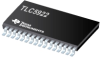 TLC5922 16-Channel LED Driver w/DOT Correction -- TLC5922DAPG4