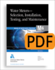 M6 Water Meters - Selection, Installation, Testing, and Maintenance, Fifth Edition (PDF) -- 30006-5E-PDF