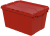 Akro-Mils Keepbox 12 gal 65 lb Red Industrial Grade Polymer Attached Lid Container - 21 1/2 in Length - 15 in Width - 12 1/2 in Height - 39120 RED -- 39120 RED