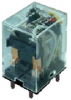 SZR-MY General Purpose Relay: Standard Relay; PCB Terminal; DPDT; 24 Vdc -- SZR-MY2-1P-DC24V
