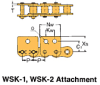 BS/DIN Chain Attachment Series -- RS08B WSK-1 - Image