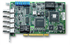 4-CH 10/12-Bit 20 MS/s Simultaneous-Sampling Analog Input Cards -- PCI-9812