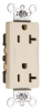 Duplex/Single Receptacle -- 26352-CDI - Image
