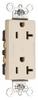Duplex/Single Receptacle -- 26352-CDI -- View Larger Image