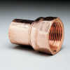 Pipe thread adapter, female fitting, copper, 1 1/8