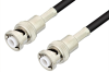 MHV Male to MHV Male Cable 24 Inch Length Using RG58 Coax, RoHS -- PE3516LF-24 -- View Larger Image