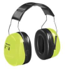 Ear Muff,30dB,Over-The-Head,Black/Green -- 3JNF6