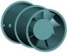 Marine Duty Direct Drive Vaneaxial Fan -- 50M Series