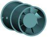 Marine Duty Direct Drive Vaneaxial Fan -- 50M Series