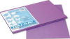 TRU-RAY CONSTRUCTION PAPER, 76 LBS., 12 X 18, VIOLET, 50 SHEETS/PACK -- 10128005