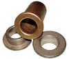Powdered Metal Bushings - Flange Bearings -- FF-411-1