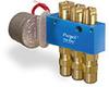 Motor Operated PurgeX for Liquid with External Volume Adjustment, 3 Feeds, 1 RPM, 120V/60Hz, Bracket -- B3474-B3B120601
