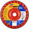 Norton Red Heat Flap Disc Quick Trim Type 27 -- 63642504880