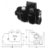 Telephone Jack Biaxial Shielded -- TJSS-108