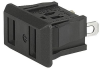NEMA line Outlet 1-15R, Snap-in Mounting, Front Side, Solder Terminal -- 0715 -- View Larger Image
