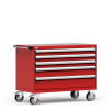 R Mobile Cabinet, with Partitions, 5 Drawers (48