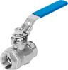 Ball valve -- VZBE-3-T-63-D-2-M-V15V16 -Image