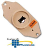 Suttle 8-Conductor, Keyed, Floor Jack with Field.. -- 697B8F