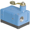 Enclosed Switch Series OP: Side Rotary, Fixed lever length with steel roller, DPDT, CW actuation -- OPD-AR