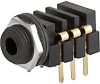 Socket, PCB terminals, insulated, 3.5 mm, 3-pole, straight, UK-Connector -- 4802.2330 -Image