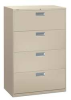 Lateral File,4-Drawer,36 W,Putty -- 13E980