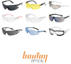 Bouton Optical Monteray Foam Polycarbonate Standard Safety Glasses Clear Lens - Clear Frame - Wrap Around Frame - 899558-00207 -- 899558-00207