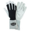 West Chester White/Black XL Grain Cowhide Leather Welding Glove - 662909-871077 -- 662909-871077