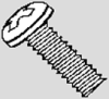 Pan Head Machine Screws - Phillips - Stainless -- MSPPS4005