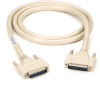 150-ft RS232 Shielded Cable Metal Hood DB25 M/M 25-Conductor -- EMN25C-0150-MM - Image