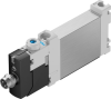Air solenoid valve -- VUVG-BK10-M52-AT-F-1R8L-S -- View Larger Image