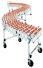 HEAVY DUTY ACCORDIAN EXPANDABLE CONVEYOR -- H430-60S -- View Larger Image
