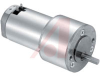 DC Geared Motor; 12/24 VDC; 2.3 A (Max.), 1.2 A (Max.); 5200 RPM; 43.2 Nm -- 70217697 - Image