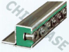 Chain Guides with Metallic Profile for Vertical Single Roller Chains -- Type CKGH -Image