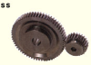 57.5mm PD Steel Spur Gears -- SS2.5-23-Image