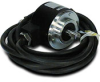 Absolute Encoder (gray code): 10-bit (1024 PPR), 8mm shaft, 10-26 VDC -- TRD-NA1024NWD - Image