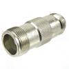 N Female (Jack) to SC Female (Jack) Adapter, High Temp, 1.25 VSWR -- SM4651 - Image