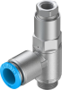 Piloted non return valve -- HGL-1/4-QS-10