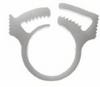 Cole-Parmer Black Nylon Hose Clamps, 1.406