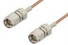 SMA Male to SMA Male Cable 24 Inch Length Using RG178 Coax -- PE3574-24 -Image