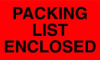 Label,Packing List Enclosed,PK50 -- 16V022
