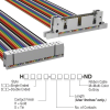 Rectangular Cable Assemblies -- H3AWH-3036M-ND -Image