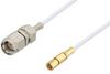 SMA Male to SSMC Plug Cable 60 Inch Length Using RG196 Coax -- PE3W06410-60 -Image