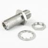 2.92mm Female (Jack) to 2.92mm Female (Jack) Bulkhead Adapter, Passivated Stainless Steel Body, 1.25 VSWR -- SM3223 - Image