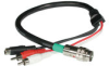 1.5ft RapidRun® S-Video + Stereo Audio Flying Lead v.1 -- 2212-42091-002 - Image